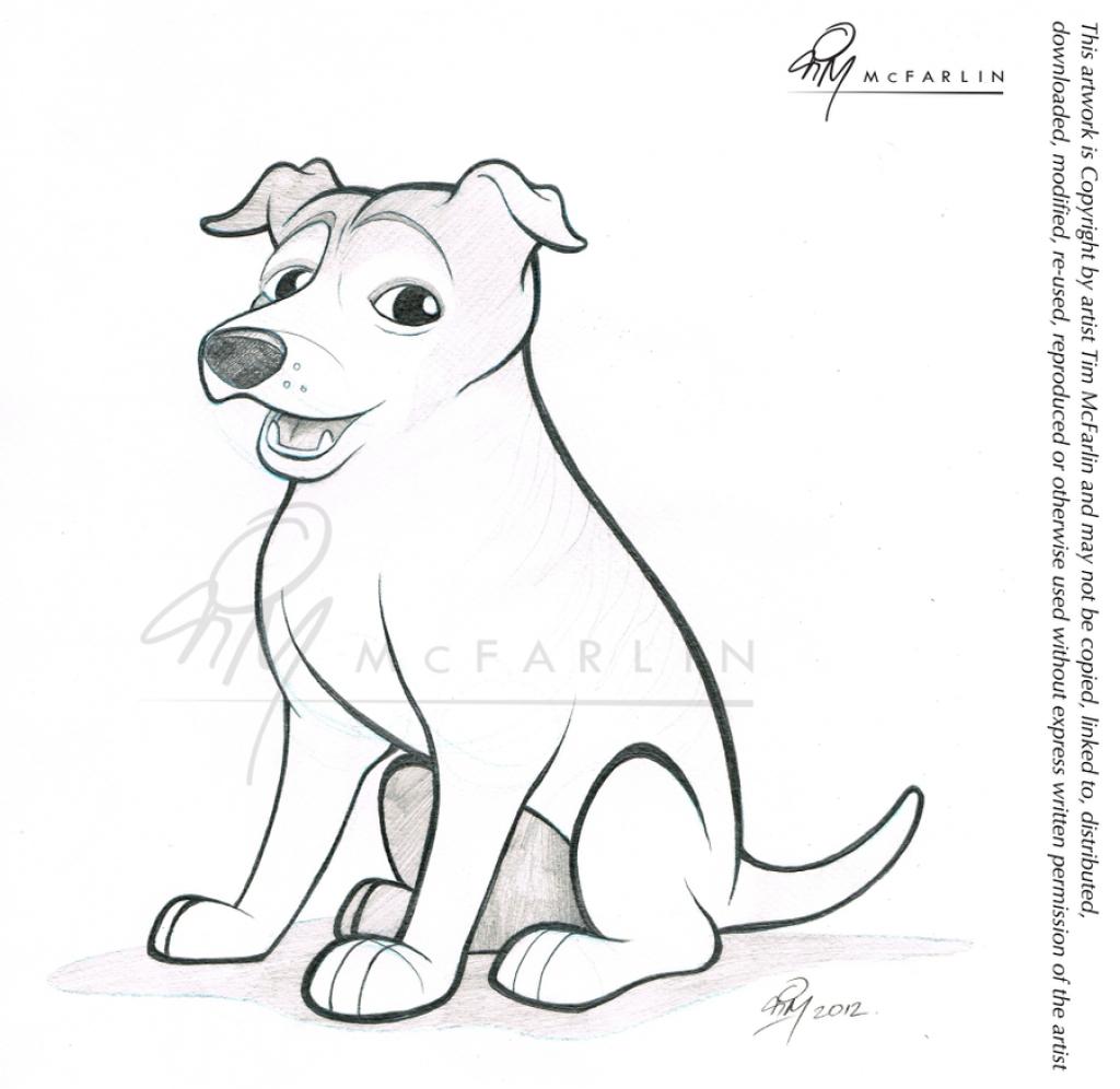 1024x996 Pencil Sketch Of Dog