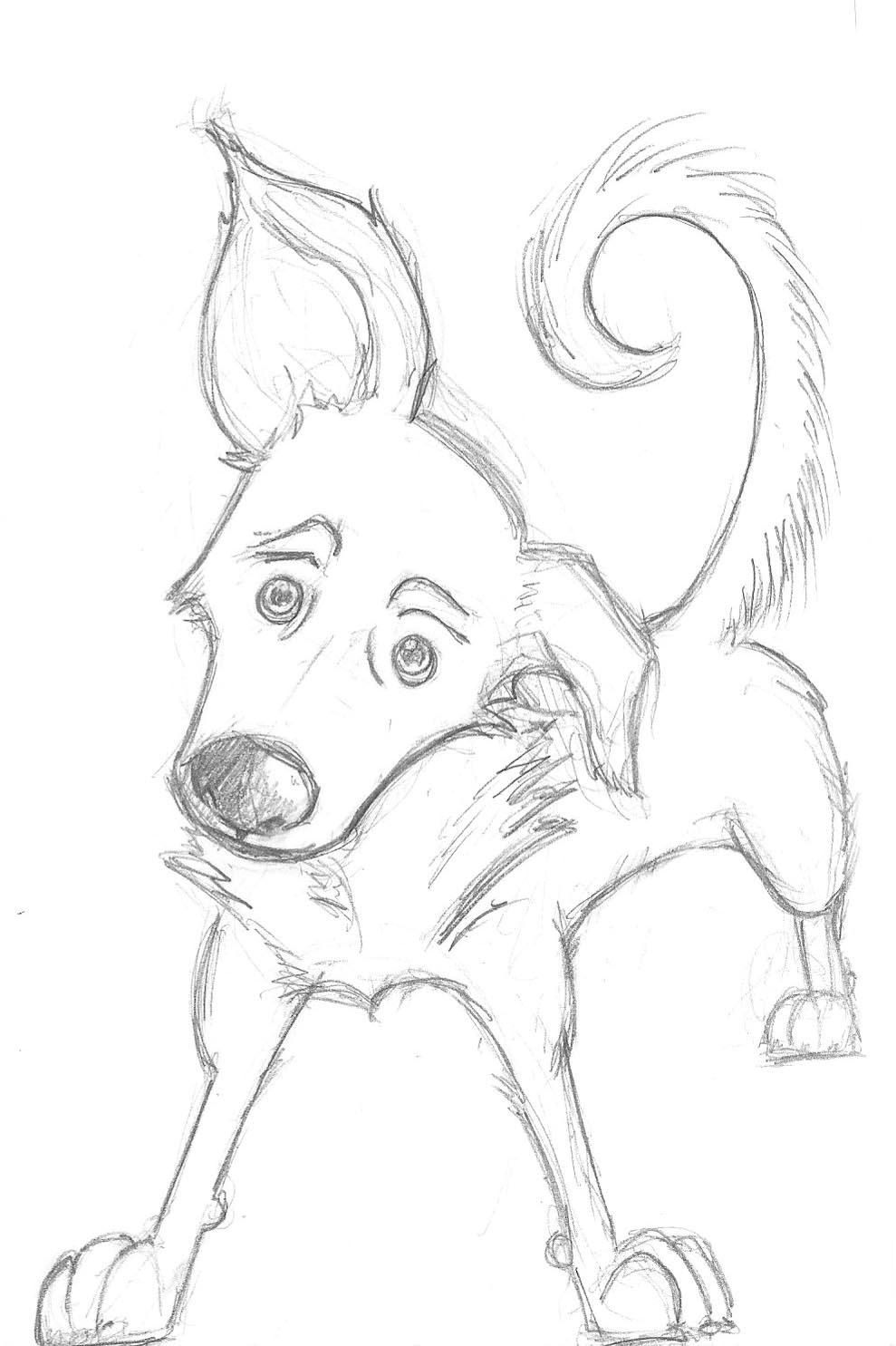 989x1485 Simple Dog Pencil Arts More Layla Sketches Cartoon Sketches, Dog