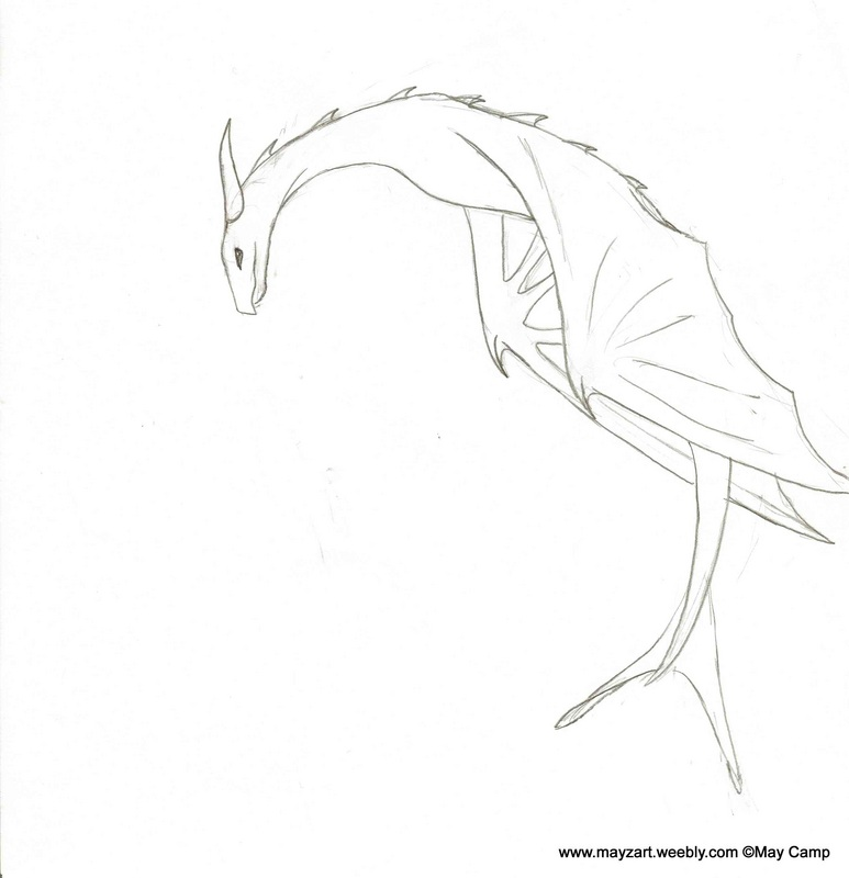 Pencil Drawing Dragons At Getdrawings Com Free For Personal Use