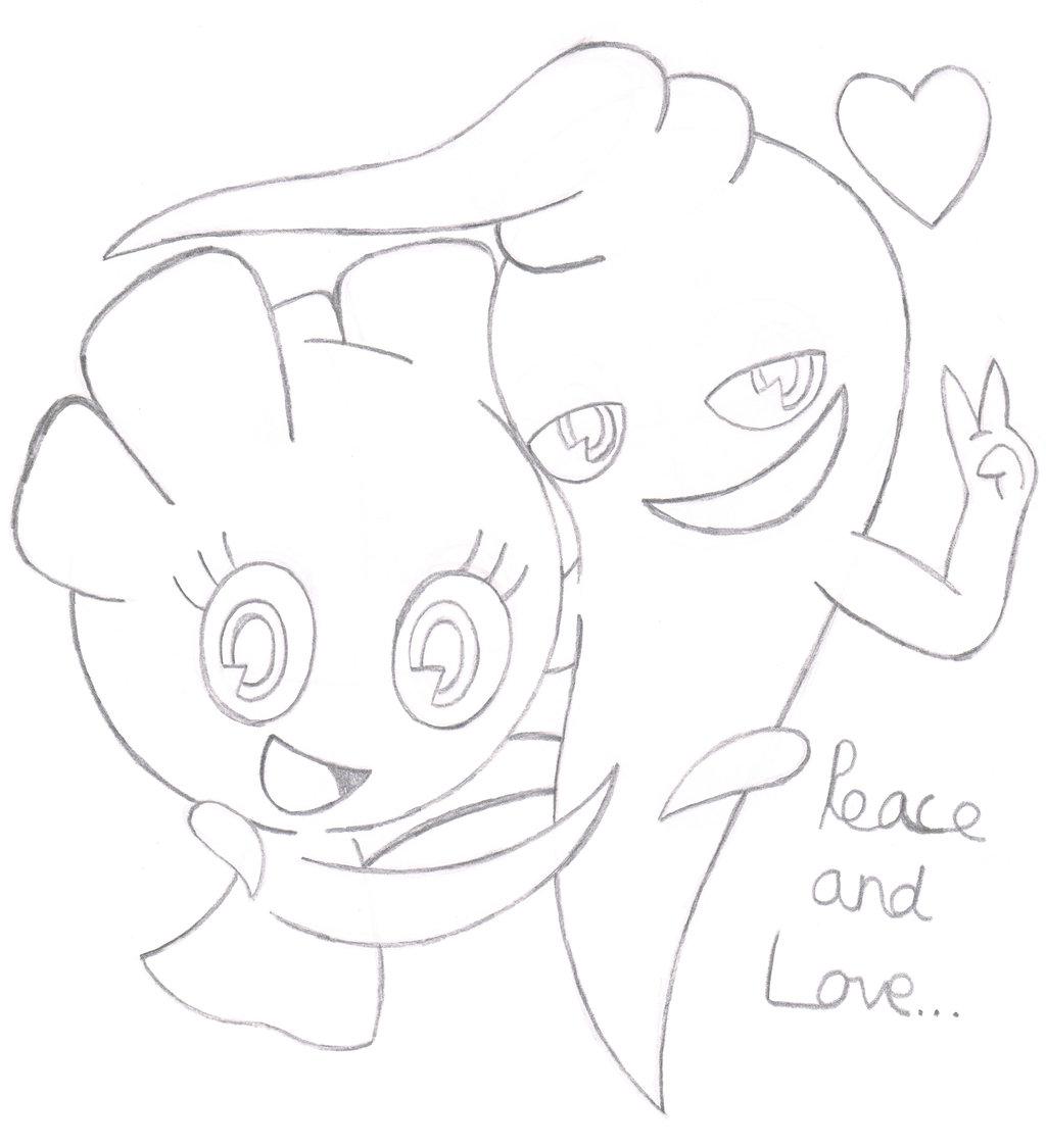 302x276 drawn manga love drawing 1024x1125 aiky pencil sketch