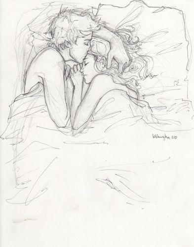 393x500 Photos Best Love Pencil Sketch,