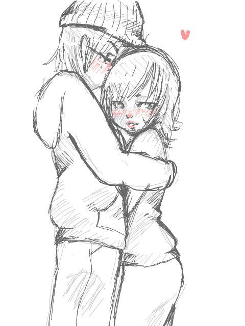 480x640 drawn kiss cute anime