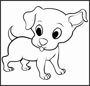 289x275 Easy Drawings Dogs Svatw New Dog Sketches Pencil Drawings