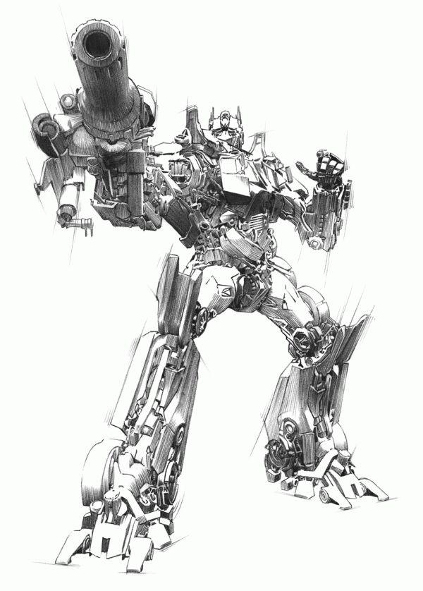 600x838 Optimus Prime Drawing Art That Inspires Transformers