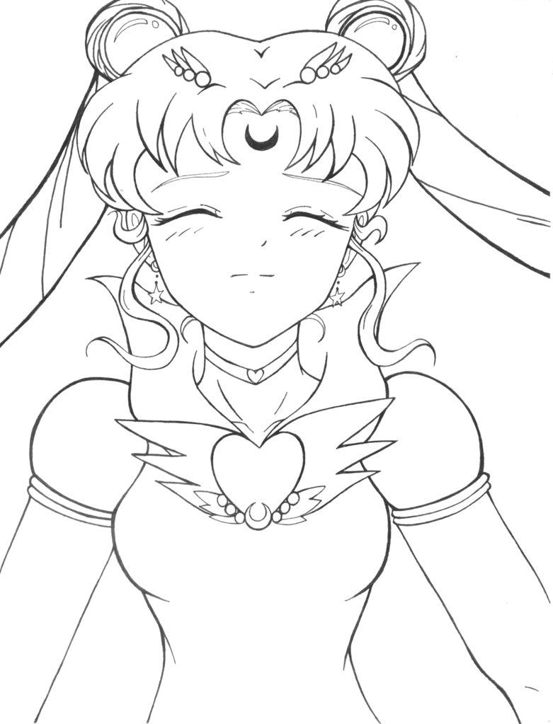 781x1023 Sailor Moon By Vampfate