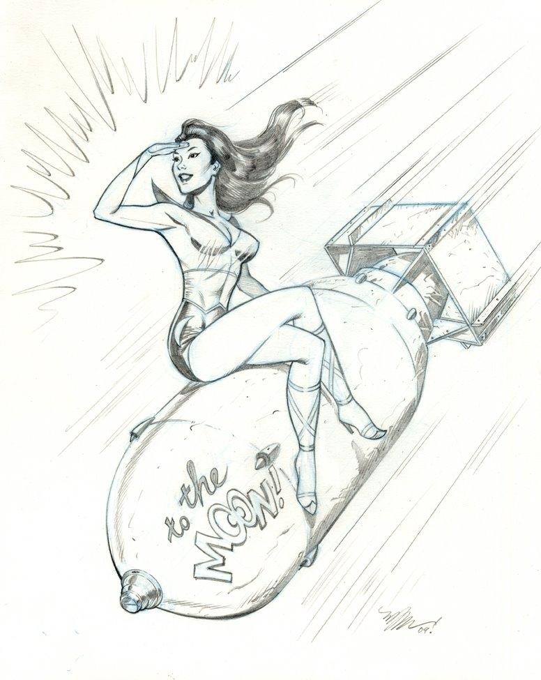 776x975 Bombshell! Moon Girl Michael Dooney, In Michael Rankins'S