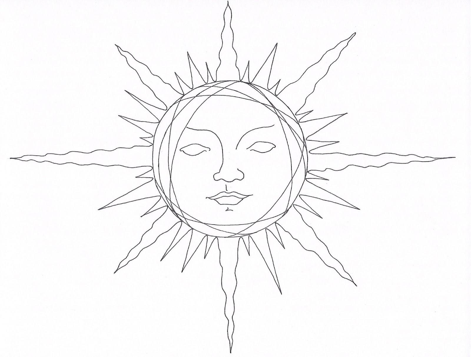 1600x1213 Pencil Drawings Of The Sun