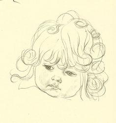 236x251 Vintage 1943 Jh Dowd Children's Print Young Child Sun Hat Swimsuit