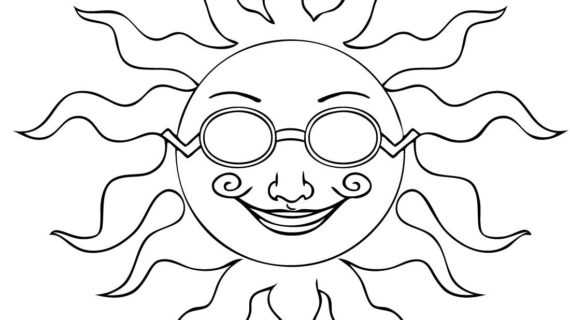 570x320 A Drawing Of The Sun Sun Realistic Art, Pencil Drawing Images