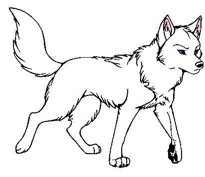 411x356 Drawn Werewolf Strong