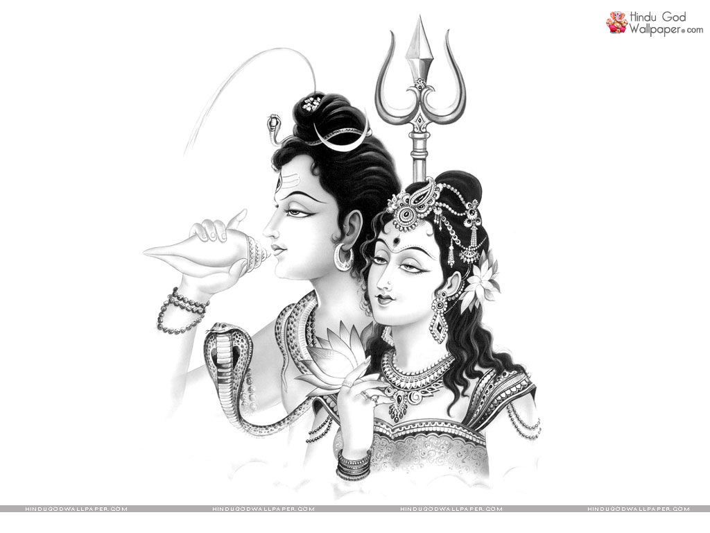 1024x768 Shiva Sketch Pencil Hd Images