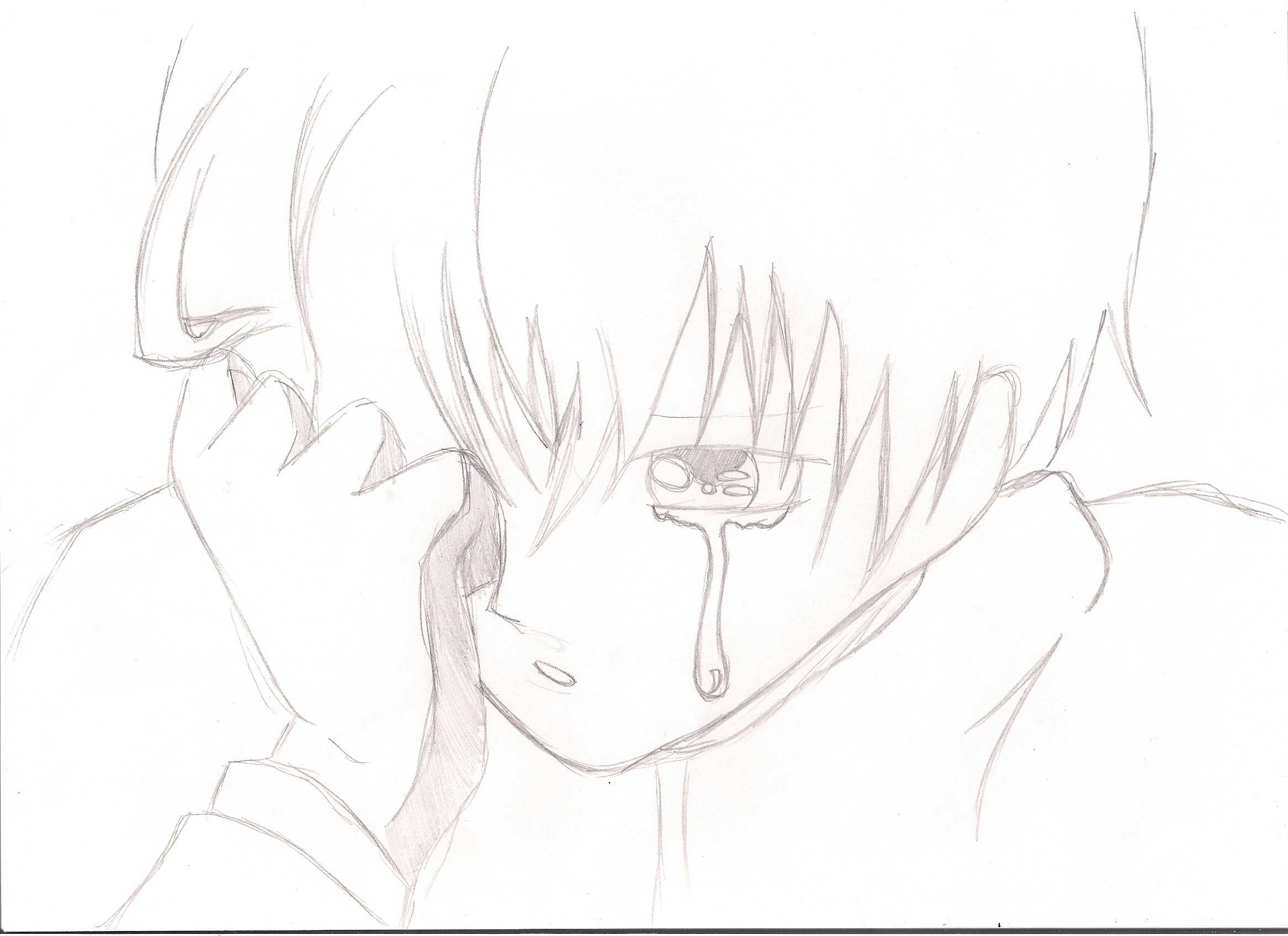 2333x1696 Pencil Sketch Pic Of Sad Boy Sad Boy Face Drawing Sad Boy Face
