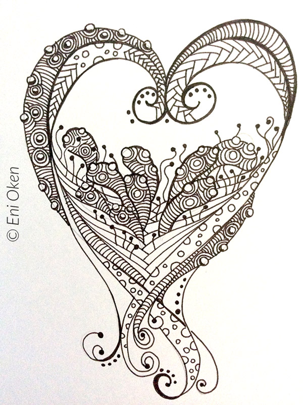 600x803 Drawing Process Of Worm Heart