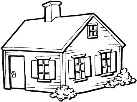 465x346 House Drawing Pics X Pencil House Sketch Architectural Rendering