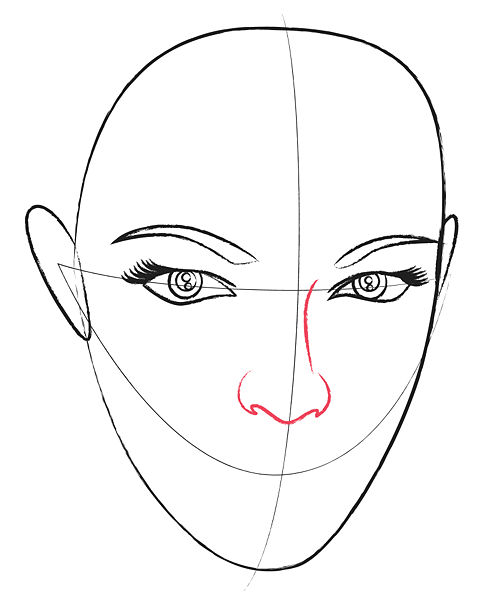 479x600 Pencil Sketches And Drawings How To Draw A Human Head