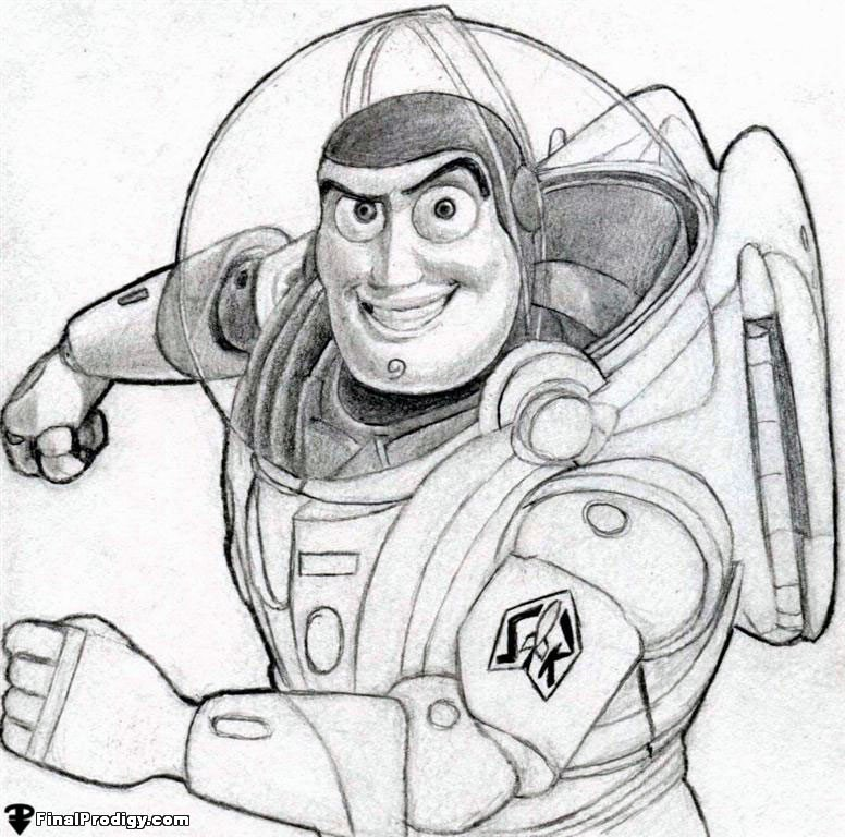 776x768 How To Draw Buzz Lightyear, Toy Story