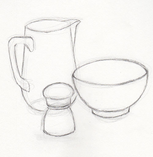 Line Drawing Still Life : Pencil still life drawing at getdrawings free for
