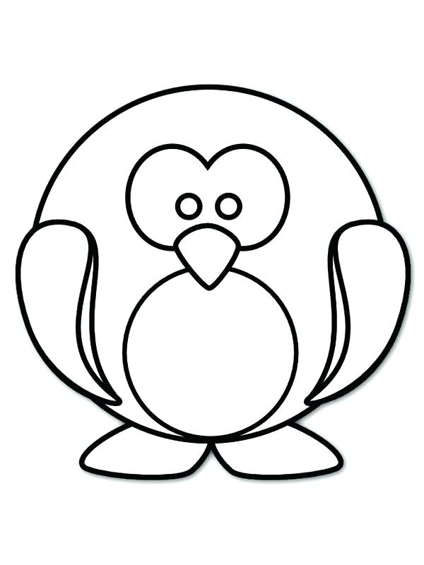 600x800 Baby Penguin Coloring Pages Baby Penguin Coloring Pages Cute