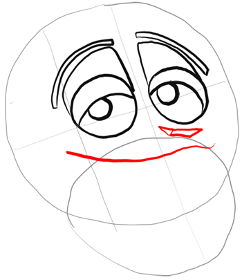 350x405 How To Draw King Julian From Penguins Of Madagascar With Easy