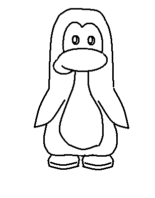 308x393 The How To Draw A Penguin Step By Step Is Out! Krissy0000's Club