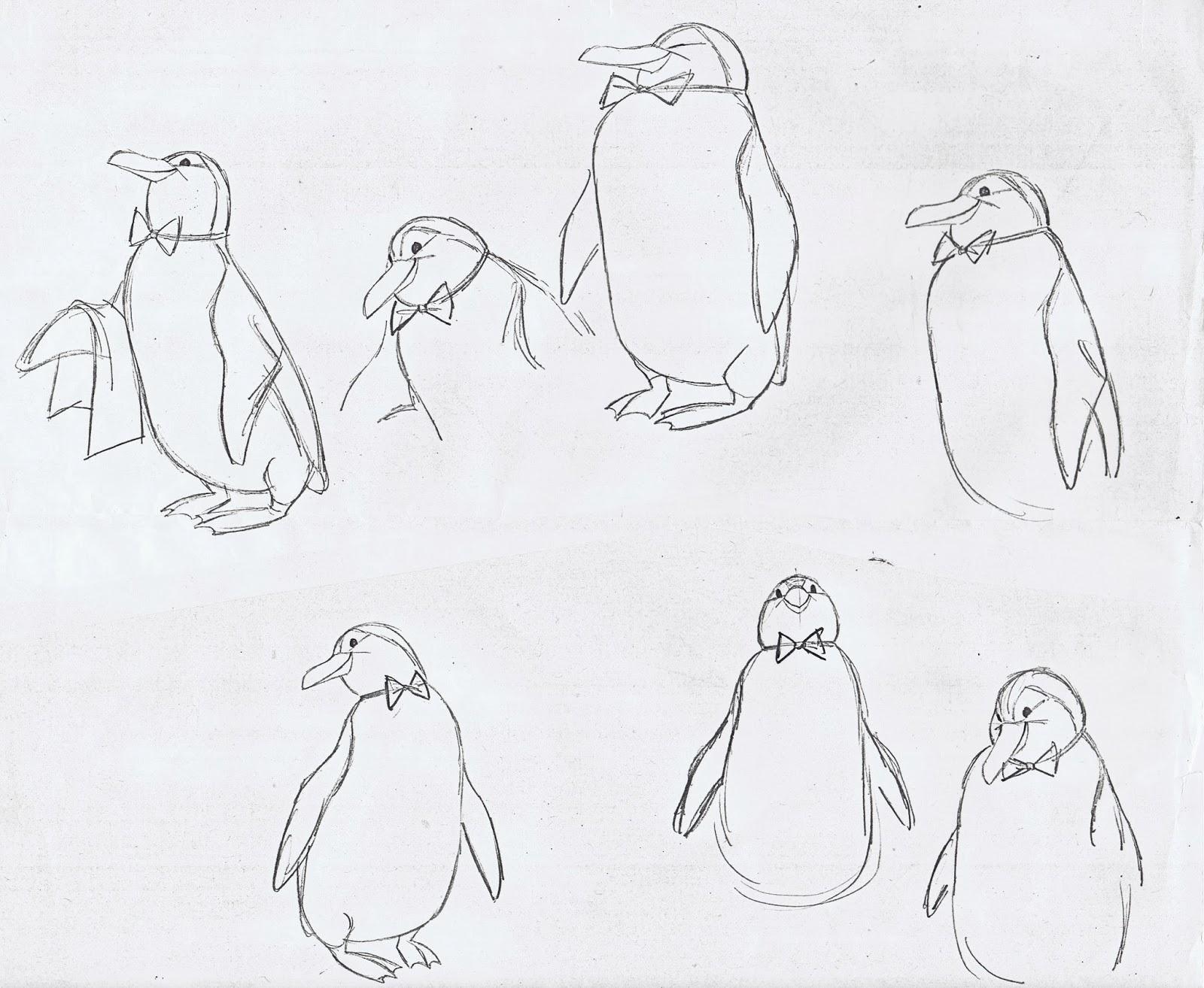 1600x1314 Penguins ~ Andrea Sdeja
