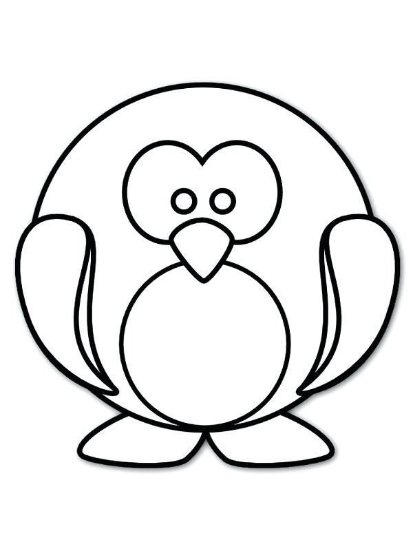 600x800 Awesome Amusing Cute Girly Coloring Pages Image Baby Penguin