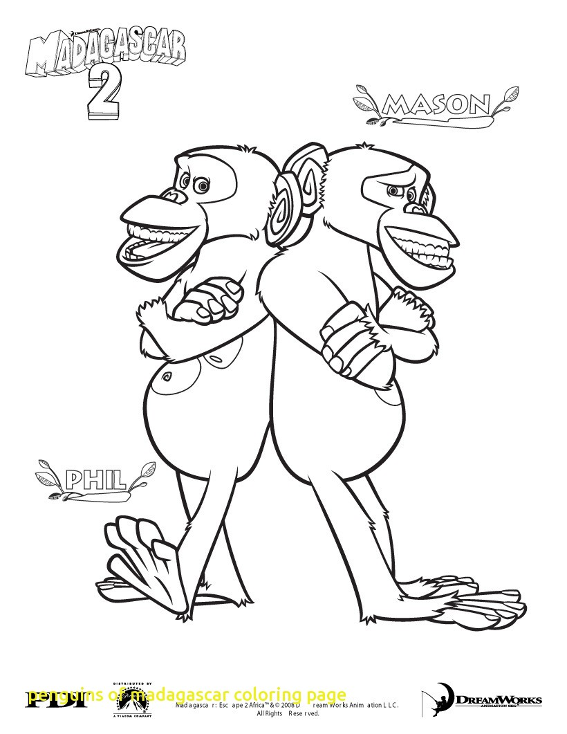 820x1061 Penguins Of Madagascar Coloring Page With Penguins Of Madagascar