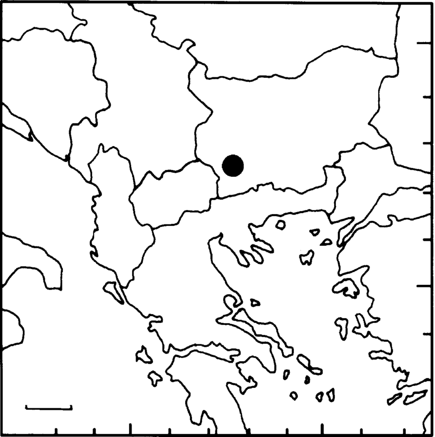 850x853 Location Of Rila Mountain (Closed Circle) On The Balkan Peninsula