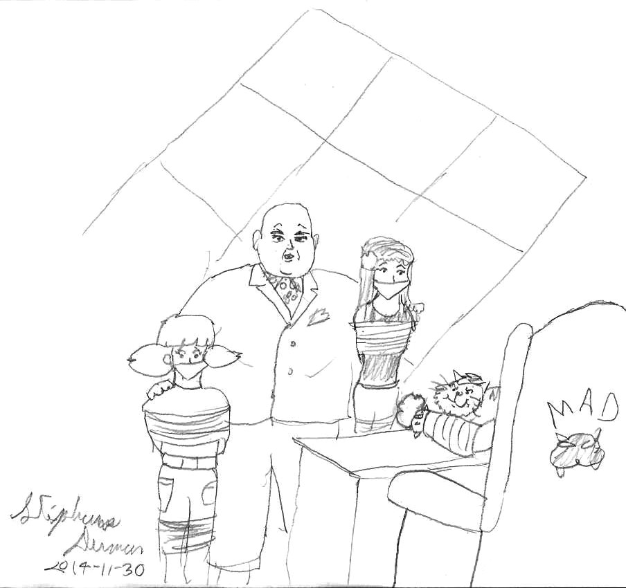 904x850 Penny Gadget, Mary Jane Watson And Kingpin By Stephdumas