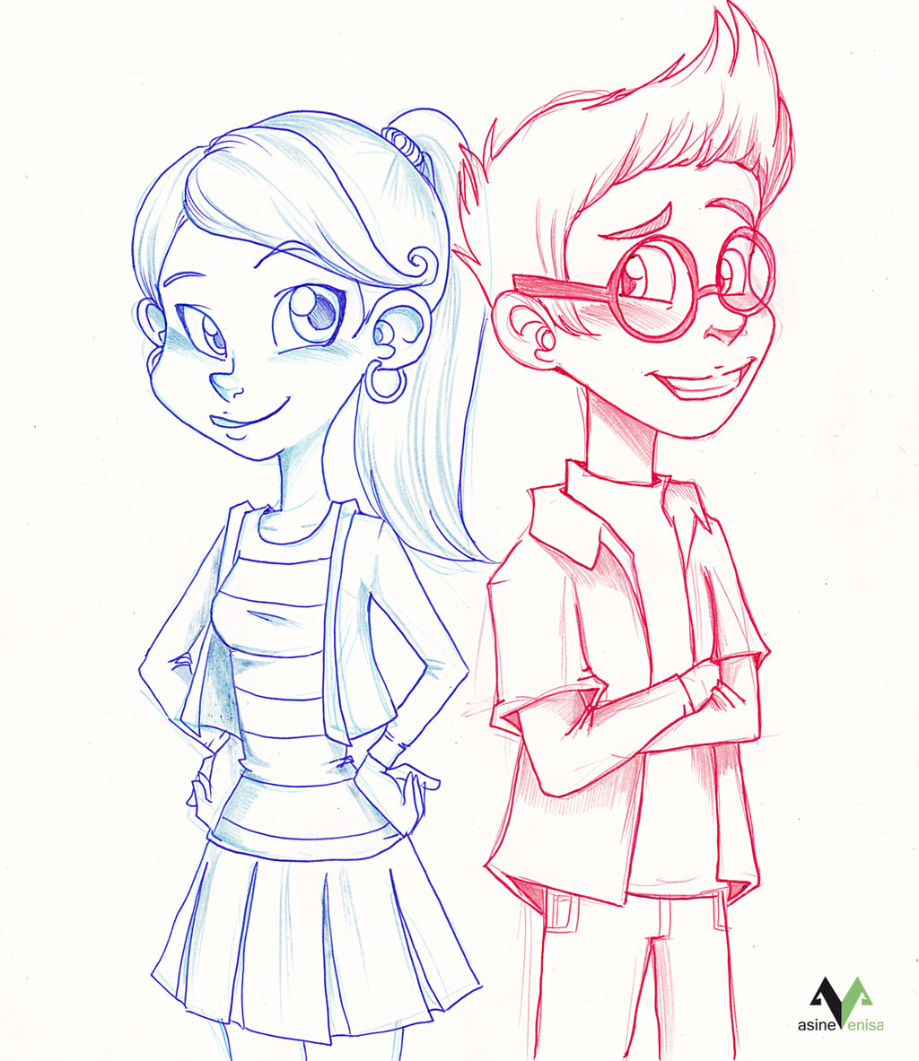 1024x1183 Penny And Sherman Teens By Asinevenisa