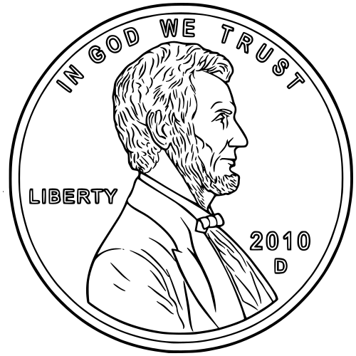 500x500 Penny Front