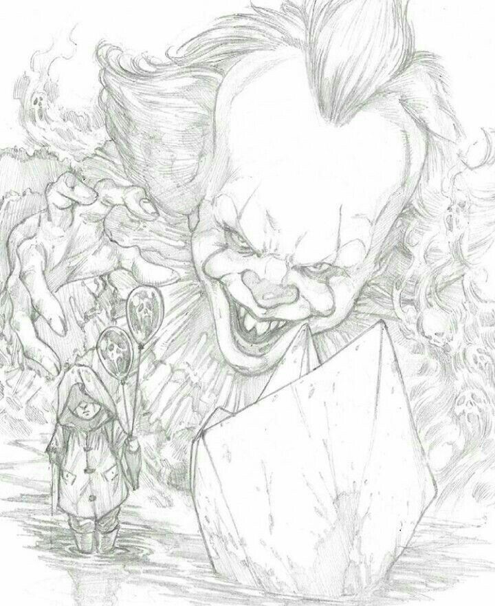 720x881 Pin By The Black Cat On Pennywise Horror, Horror