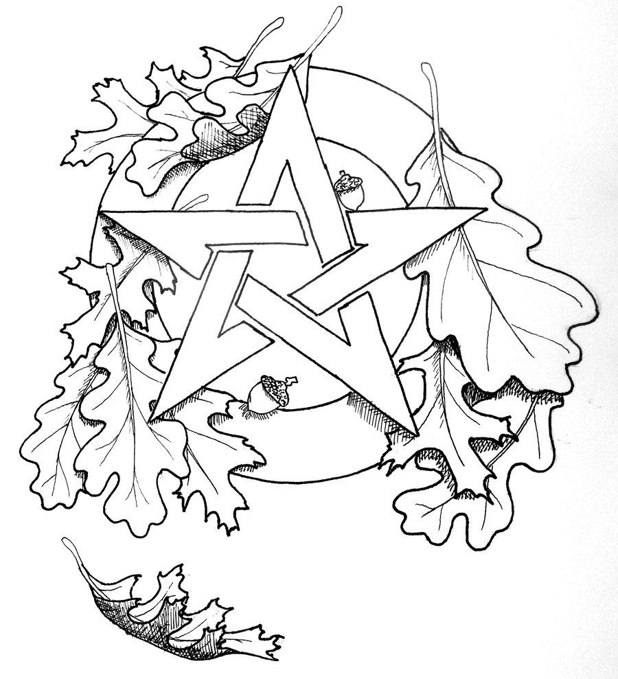 900x989 Celtic Pentagram Drawing Celtic Pentacle Tattoo Celtic Pentacle