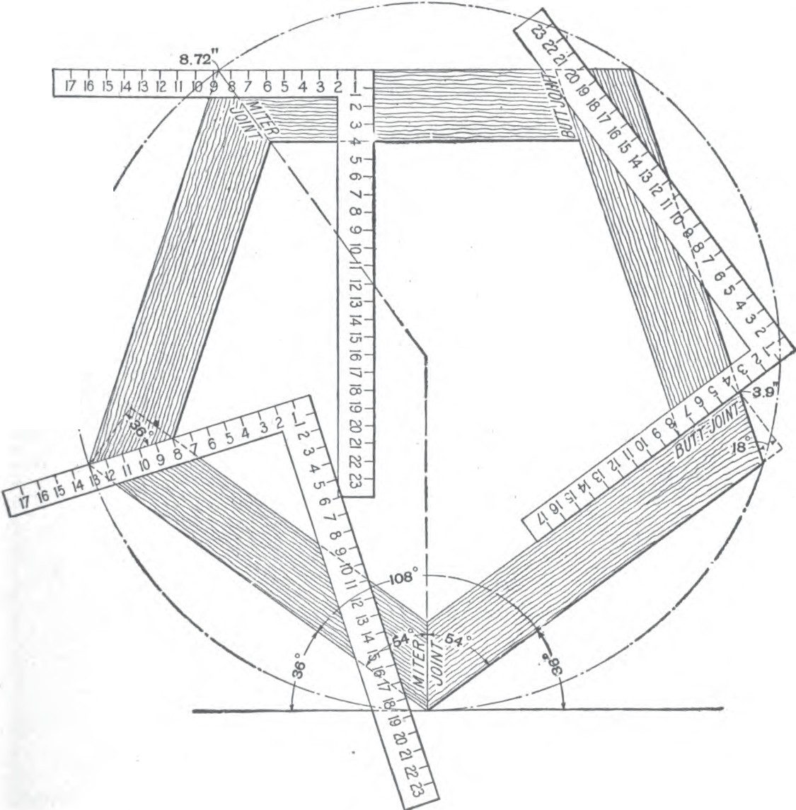 1125x1145 Roof Framing Geometry Roof Framing Polygon Angles
