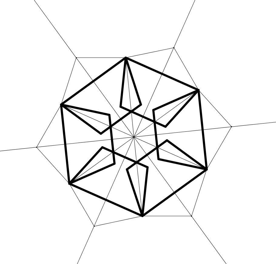 910x872 Hexagon Amp Pentagon , Hexagono Y Pentagono Geometry Geometria