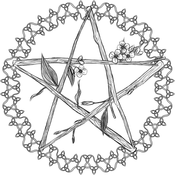 Pentagram Drawing