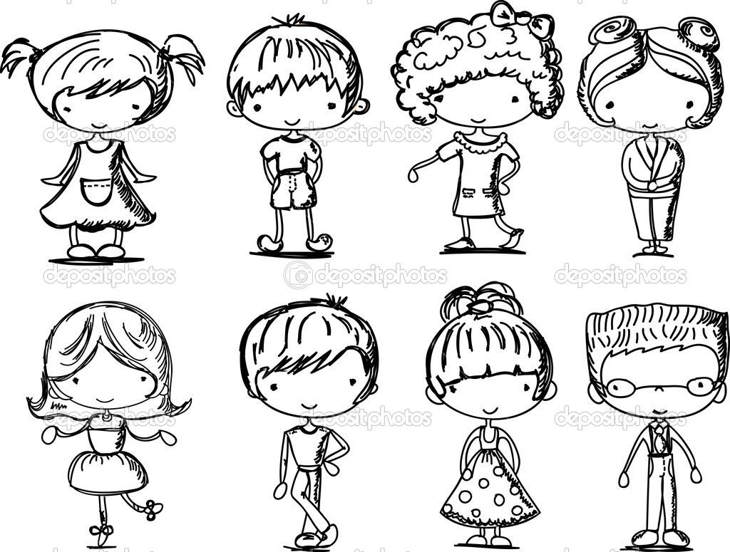 1024x775 Drawn Caricature Toddler