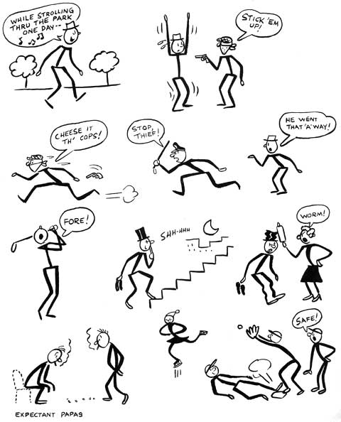 480x594 How To Draw Cartoon People Figures Moving In Different Movements