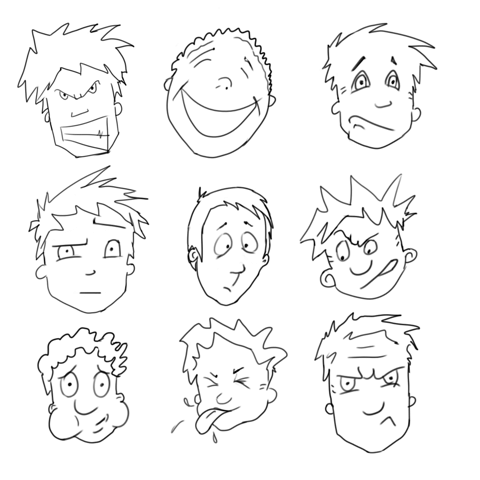 480x480 How To Draw Cartoon Characters