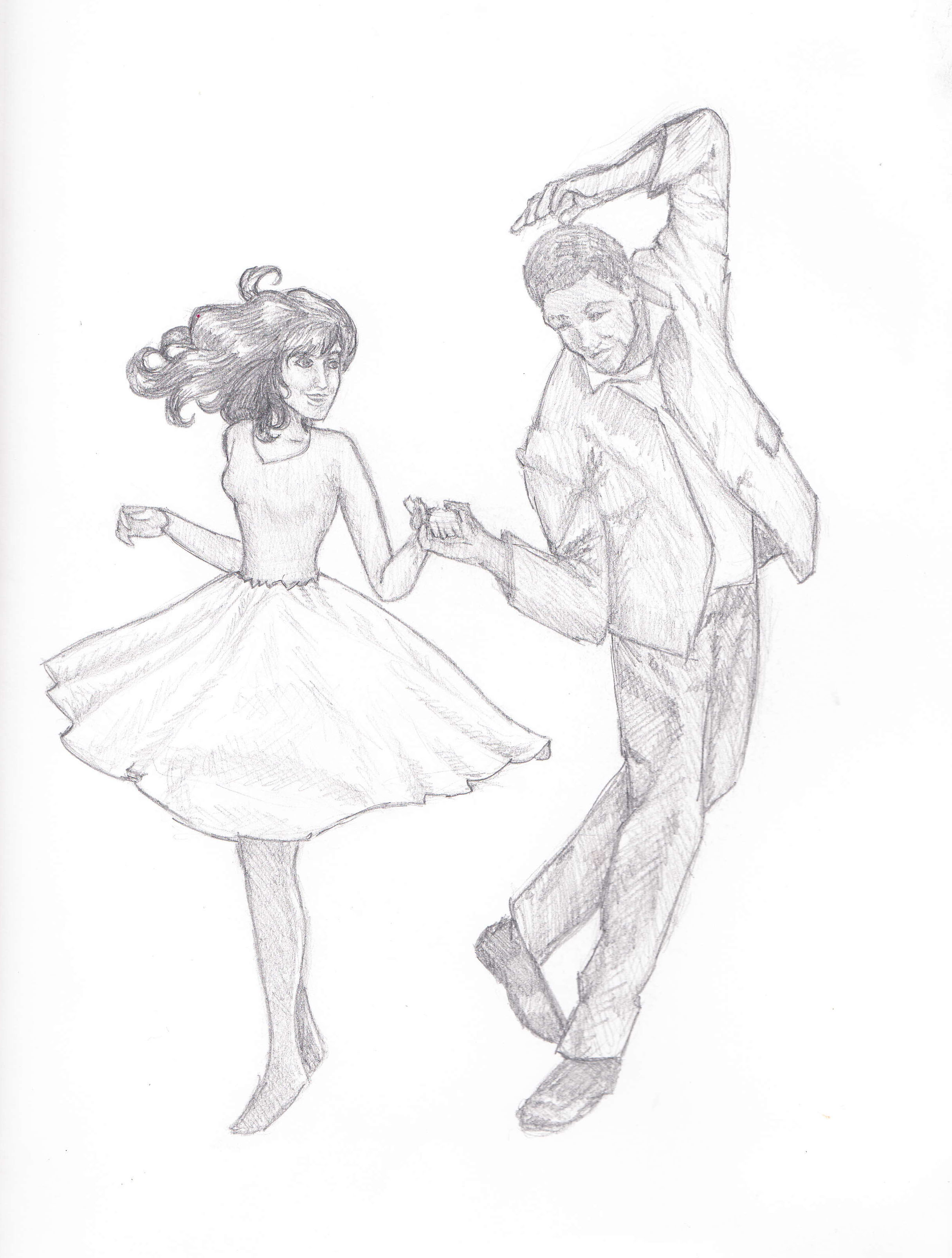 2432x3213 Drawings Of People Dancing Collection