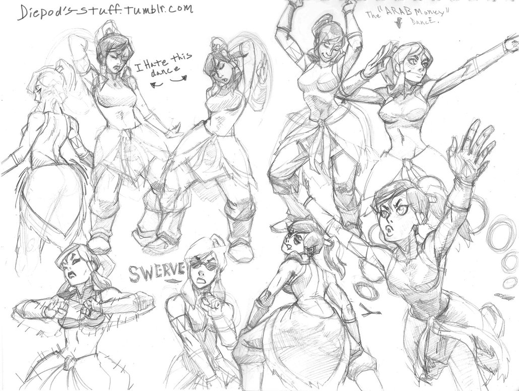 1030x776 Korra Dancing Like Black People By Hiivolt 07