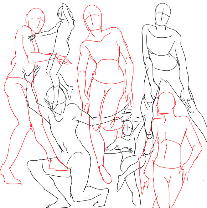 661x663 Rhissy Kelpls Practicing Drawing Some Waltzes