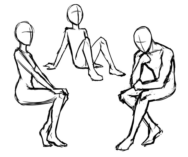 736x612 Drawing The Body Basic Poses