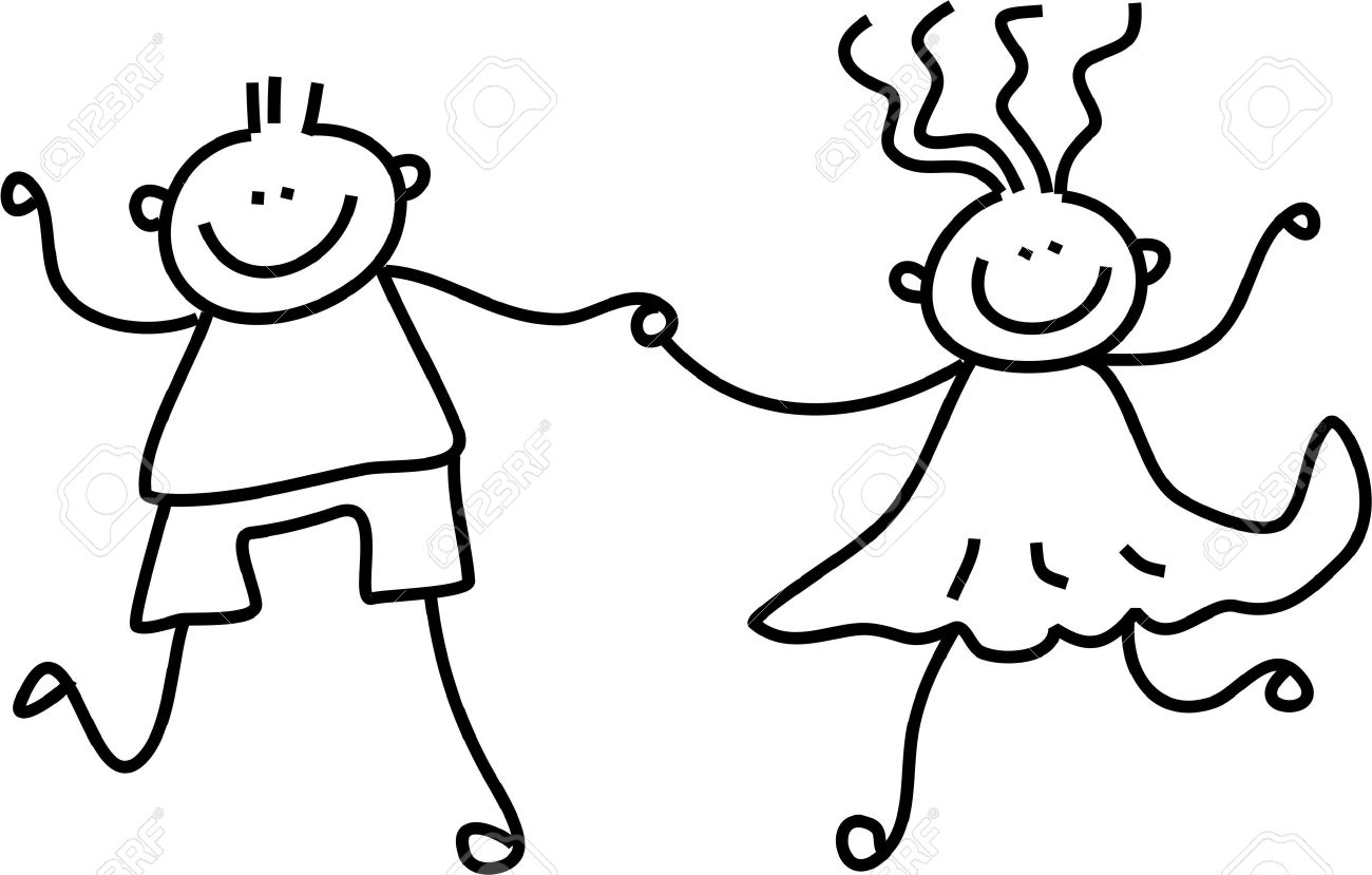 1300x829 A Little Boy And Girl Holding Hands