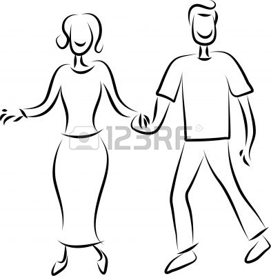 393x400 Keonk Badunk How To Draw Anime Couples Holding Hands