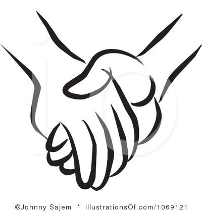 400x420 Two People Holding Hands Clipart