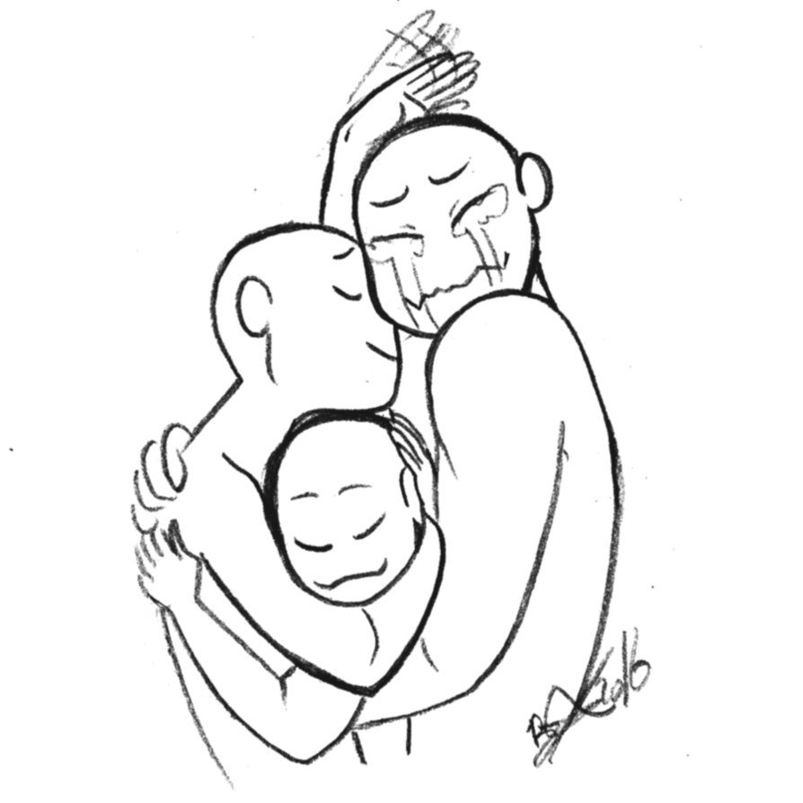 894x894 Draw The Squad Hugs By Croxovergoddess