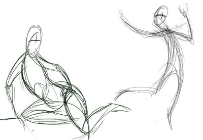 400x277 Quick Tip Create Dynamic Poses Using Gesture Drawing