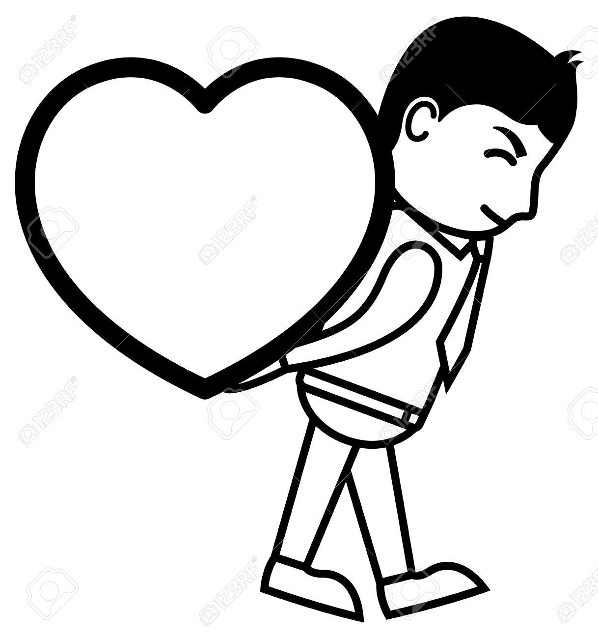 1218x1300 Cartoon Drawings Of People In Love Drawing Love Story Cartoon