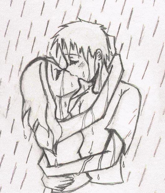 People Kissing Drawing At Getdrawings Com Free For Personal Use